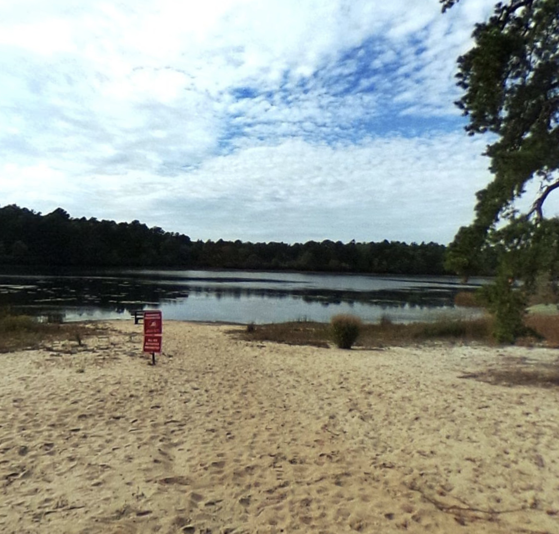 Sears Bellows County Park   Recreational site with a freshwater pond for fishing, camping & hunting, plus hiking & bridle paths.  Telephone: 631-852-8290  63 Bellows Pond Road Hampton Bays, NY 11946