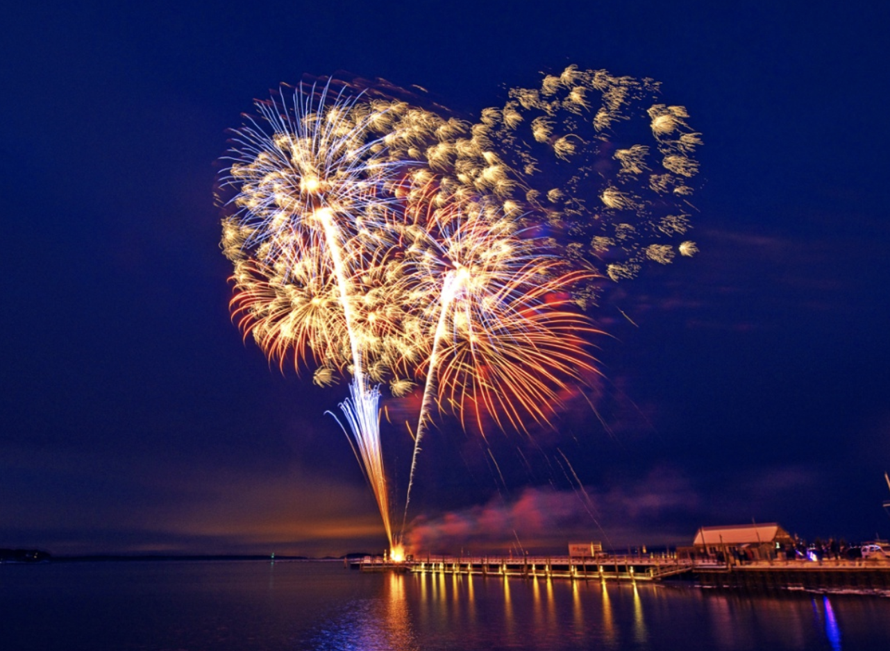 Sag Harbor 4th of July Fireworks   Our yearly 4th of July fireworks display is not to be missed! Made possible by the Sag Harbor Yacht Club, watch as this magnificent display is set off over the water. Make sure to show up early to get a spot at the Jordan K Haerter Memorial Bridge or Long Wharf for a front row seat!   Check the SHKids Calendar for Event dates.    https://sagharborchamber.com/events/fireworks-celebration-july-4th/