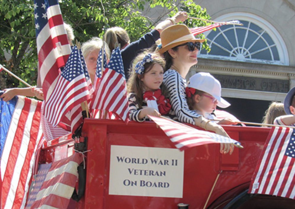 Summer Town Parades   Check out listings for the various holiday parade celebrations happening in your area! Dates and times vary between the towns.   Check the SHKids Calendar for Event dates.    Southampton July 4th Town Parade -   https://www.hamptons.com/Community/Community-News/23491/Hamptons-4th-Of-July-Fireworks-Festivities-And.html#.XSevbZNKhN0    East Hampton Memorial Day Parade -   https://www.eastendbeacon.com/event/east-hampton-memorial-day-parade/    Sag Harbor Memorial Day Parade -    https://sagharborchamber.com/events/memorial-day-parade/