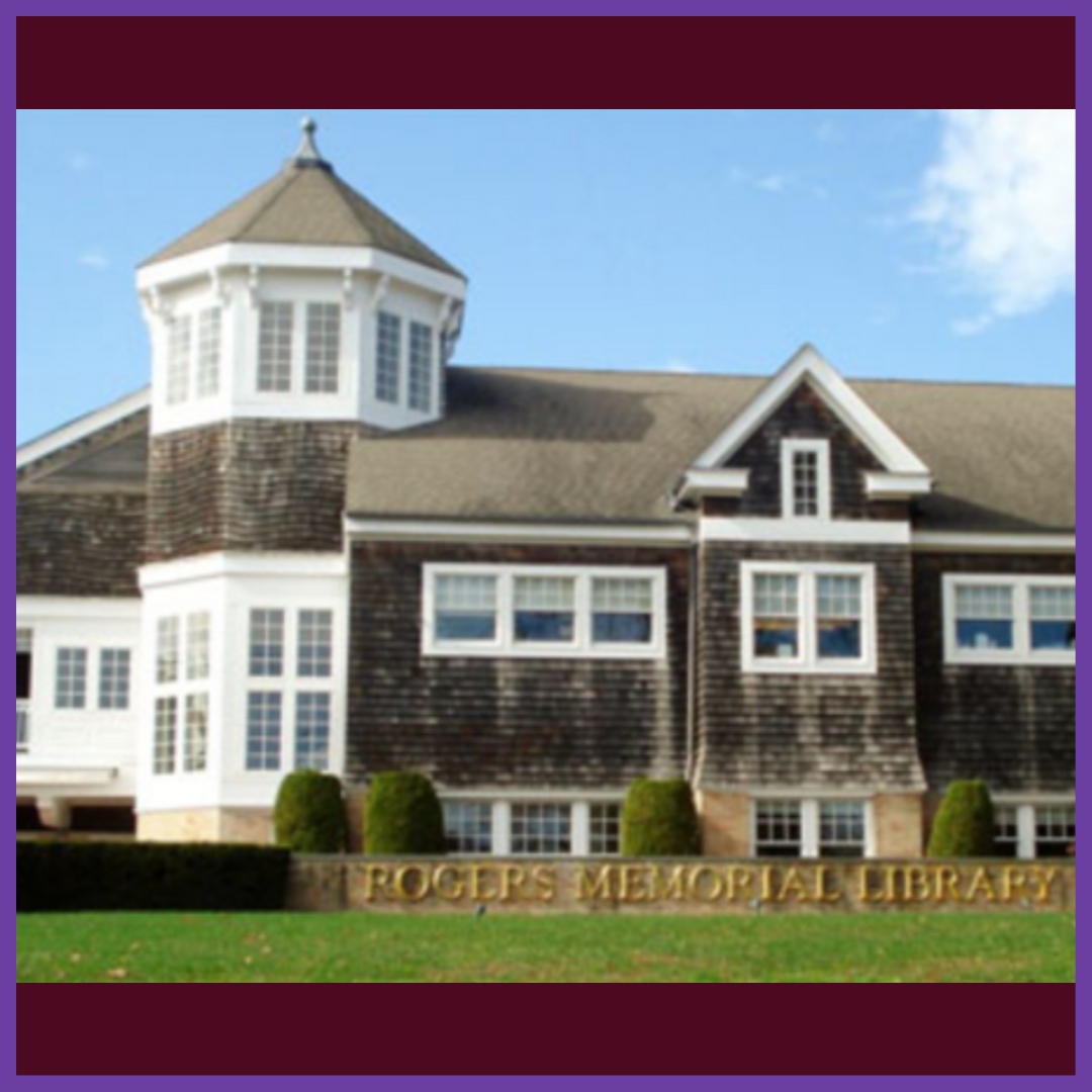 Rogers Memorial Library    Address:  91 Coopers Farm Road Southampton, NY 11968   Tel:  (631) 283-0774  Fax:  (631) 287-6539