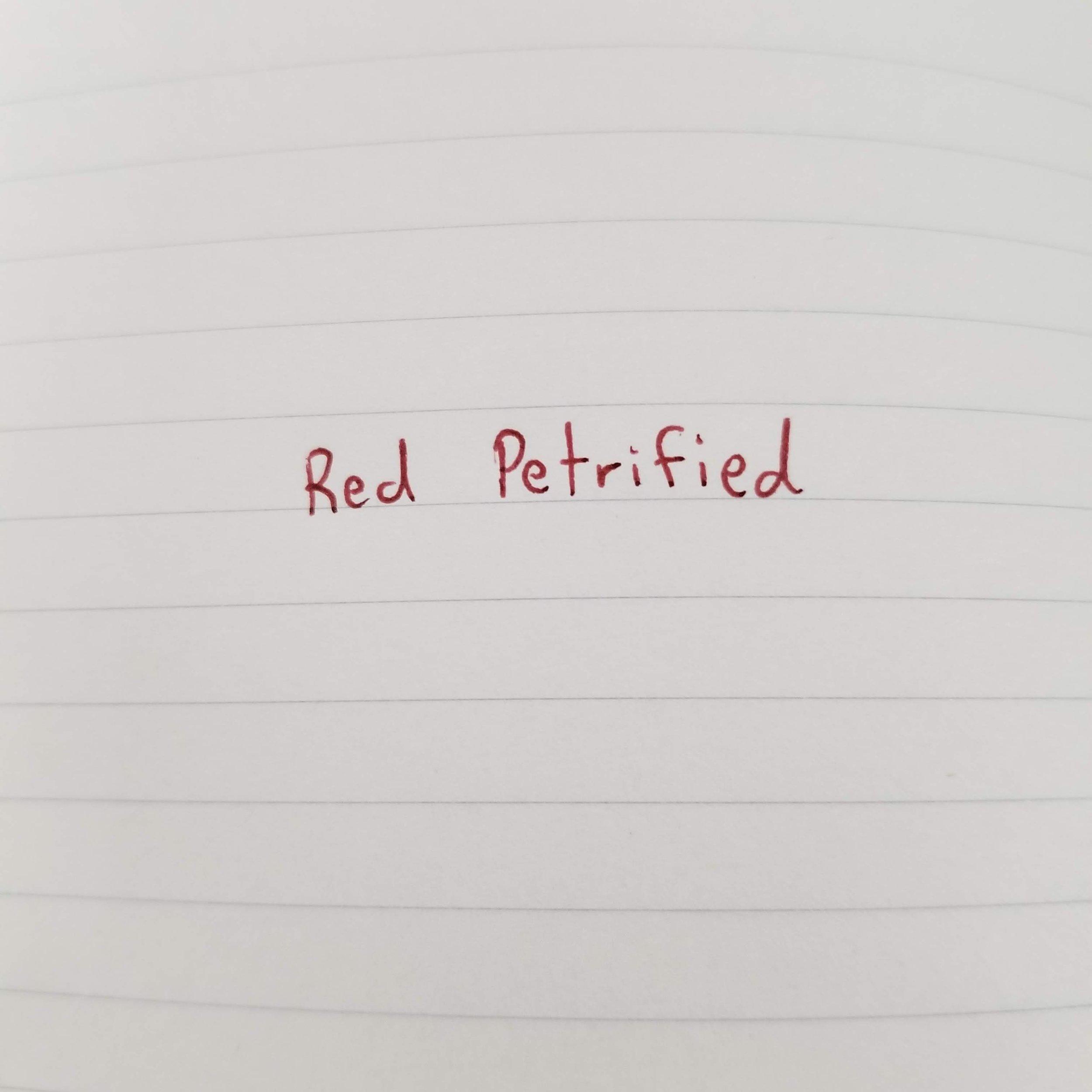 Red Petrified