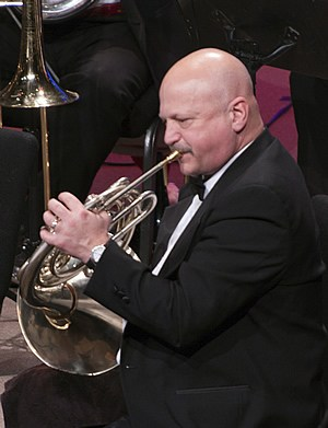 Larry Johnson, French horn - Former Assistant Principal Horn Oregon Symphony; Associate Professor, Oregon State University; Staff Conductor, Portland Youth PhilharmonicLearn more about Larry ➝