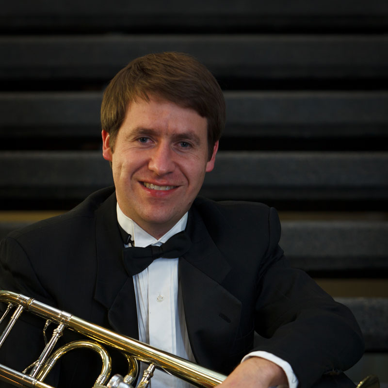 Carson Keeble, trombone - Professor of Trombone Oregon State University, regular extra Seattle & Oregon Symphonies; former Principal Trombone of the Louisiana SymphonyLearn more about Carson ➝