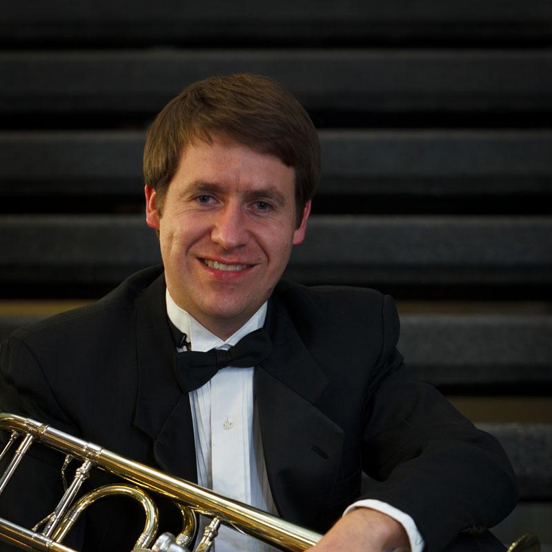 Carson Keeble, trombone - Professor of Trombone Oregon State University, regular extra Seattle & Oregon Symphonies; former Principal Trombone of the Louisiana SymphonyLearn more about Carson ➝