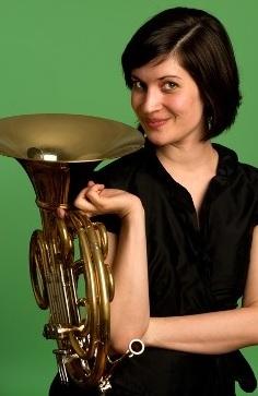 Danielle Kuhlmann, horn - French Horn, Seattle Symphony; Founding member, Ghengis Barbie Horn QuartetLearn more about Danielle ➝