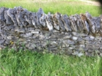 Stone walls need yearly repairs