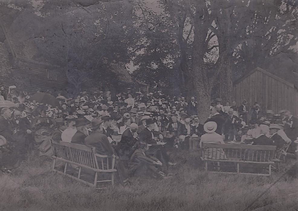 1904 Meeting at the Fairbanks Family, Dedham, Massachusetts, Photo compliment of The Fairbanks House at http:/wwwfairbankshouse.org