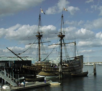Mayflower II at Plymouth, Massachusetts