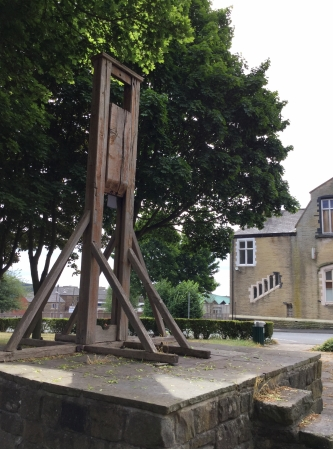Gibbet or Guillotine of Halifax, West Yorkshire, England
