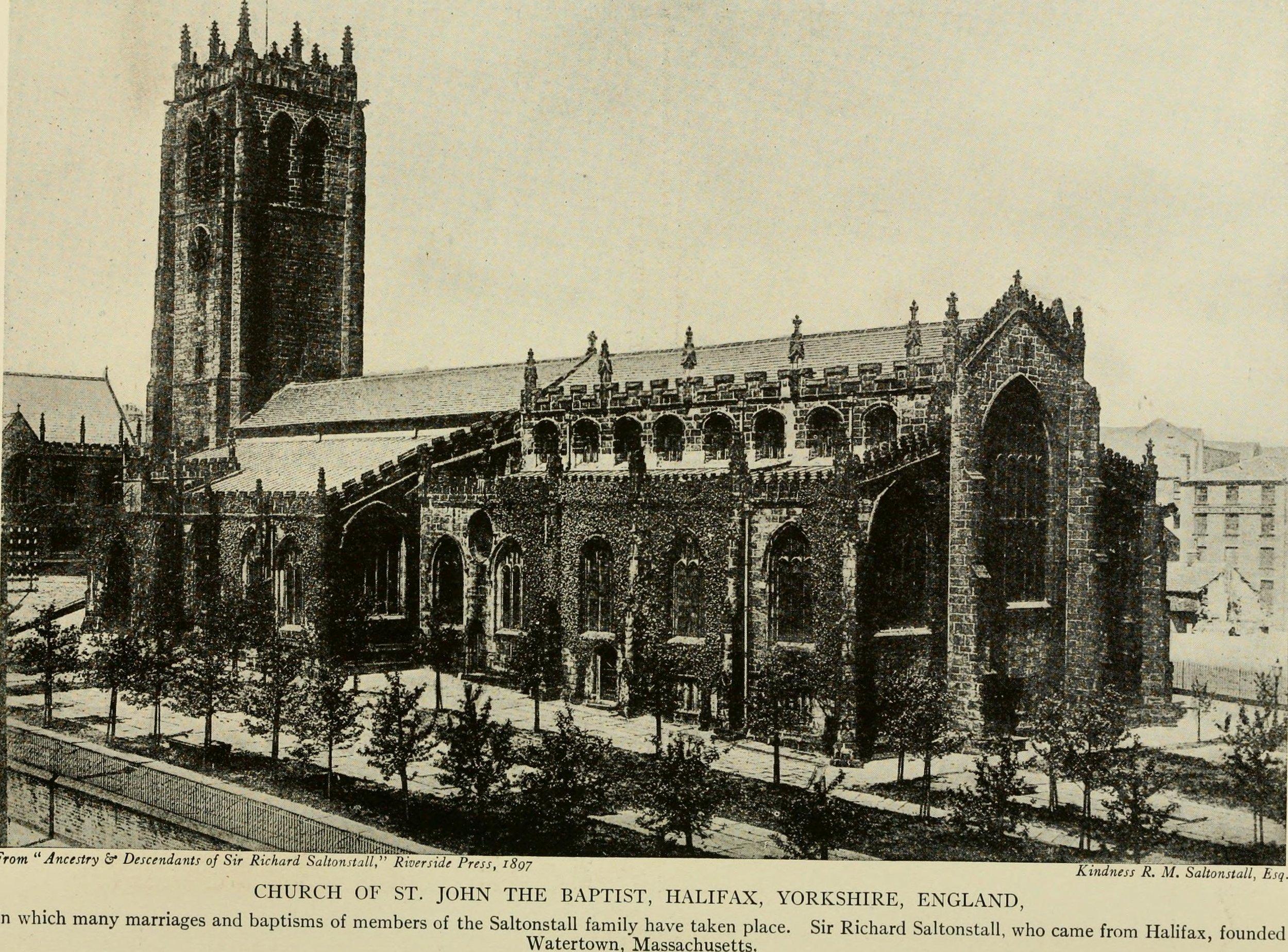 Halifax Parish Church, West Yorkshire, England The Church of Jonathan and Grace Fairbanks
