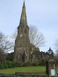 Saint Wilfrid's Church of Standish Where John and Mary Prescott were married.