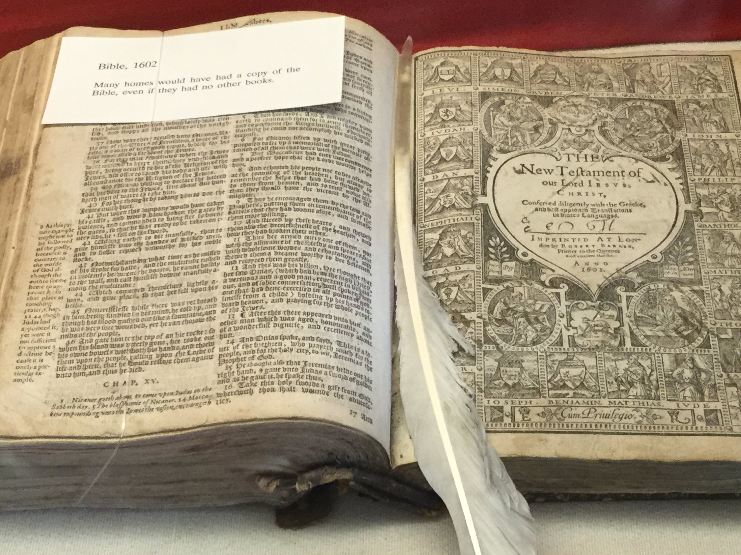 Bible from England 1602