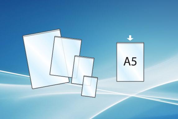Plasthylse A5 åpen topp
