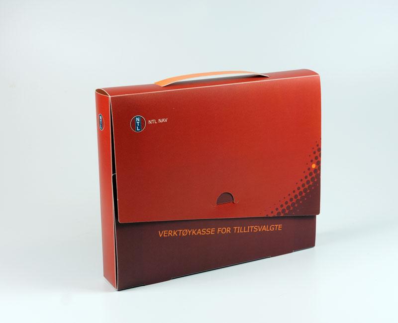 PP koffert A4 pluss hvit _offset