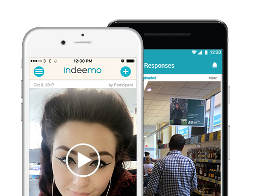 mobile ethnography indeemo app