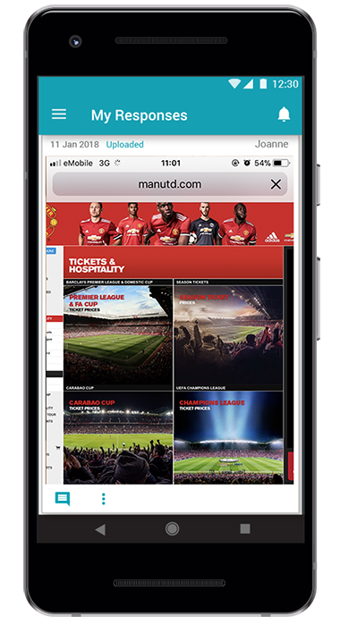 Indeemo App Android - sport case study