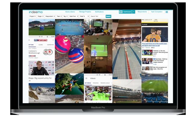 Sport Indeemo dashboard