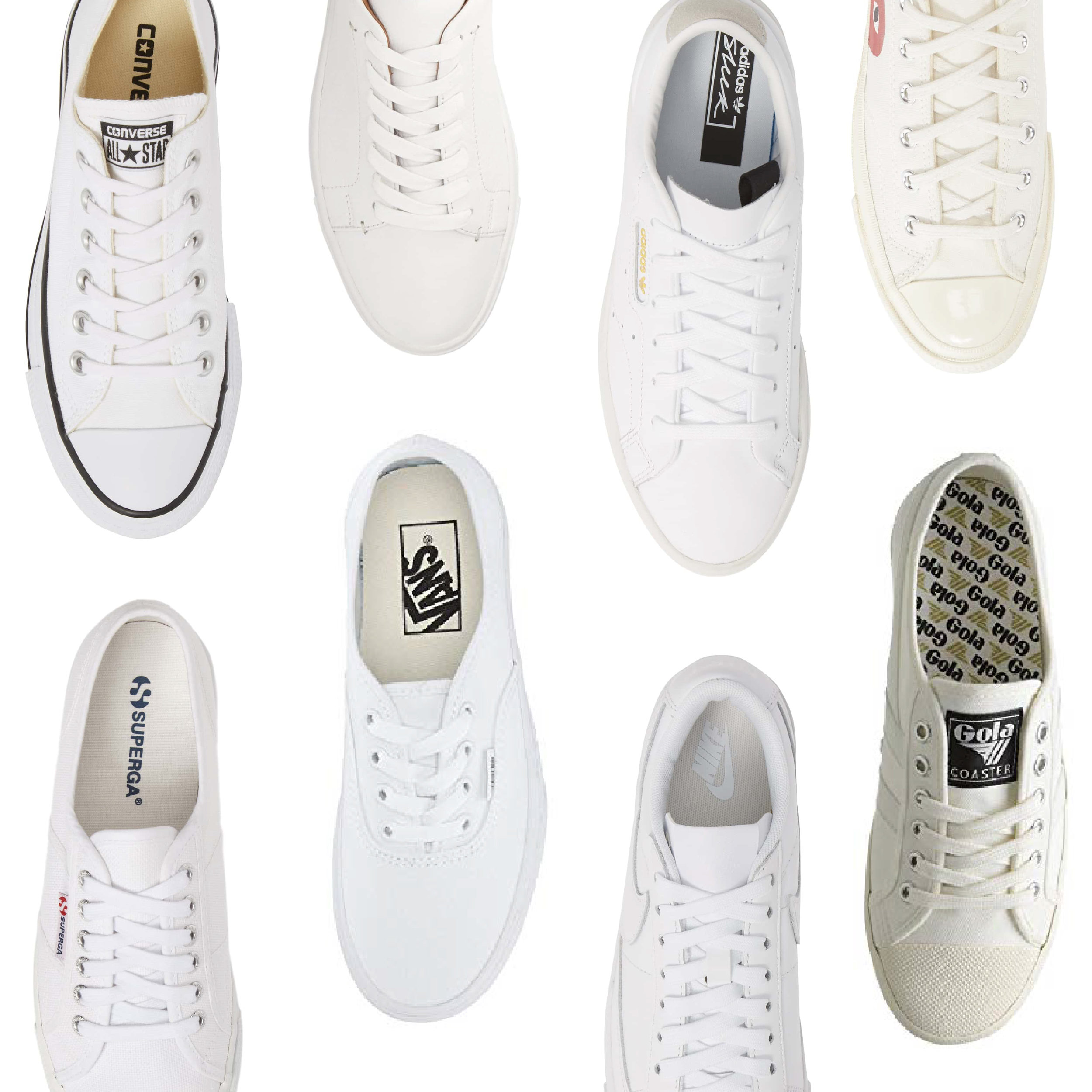 White Sneakers — The Buy Guide
