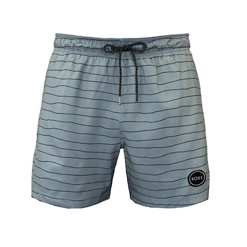 Swim Shorts - These swim shorts are quick drying, comfortable, and are made from recycled water bottles! (They even have matching dad/son prints)