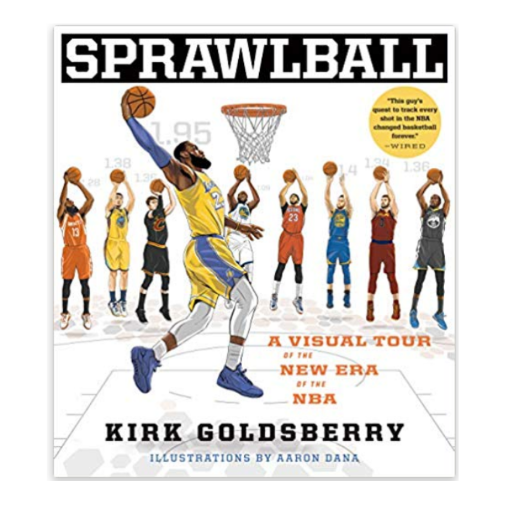 Basketball Book - If your man loves basketball, then he'll love reading this book about how the game has evolved.