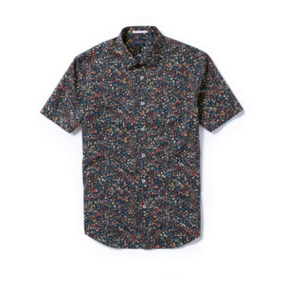 Good Man Button Up - Just the right amount of floral for the man in your life.