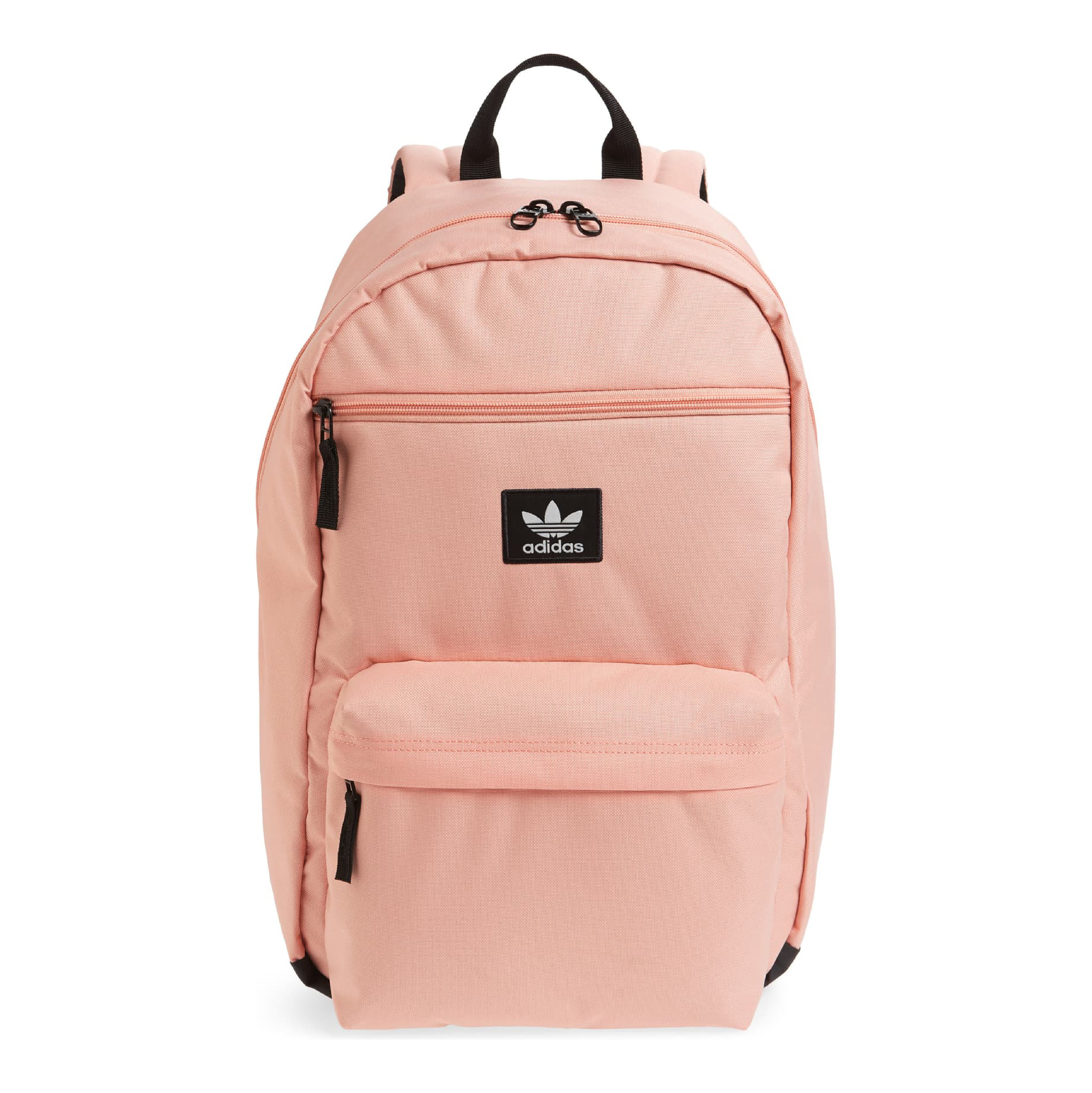 Adidas - How adorable is this pink Adidas backpack!? We might need one for us too.