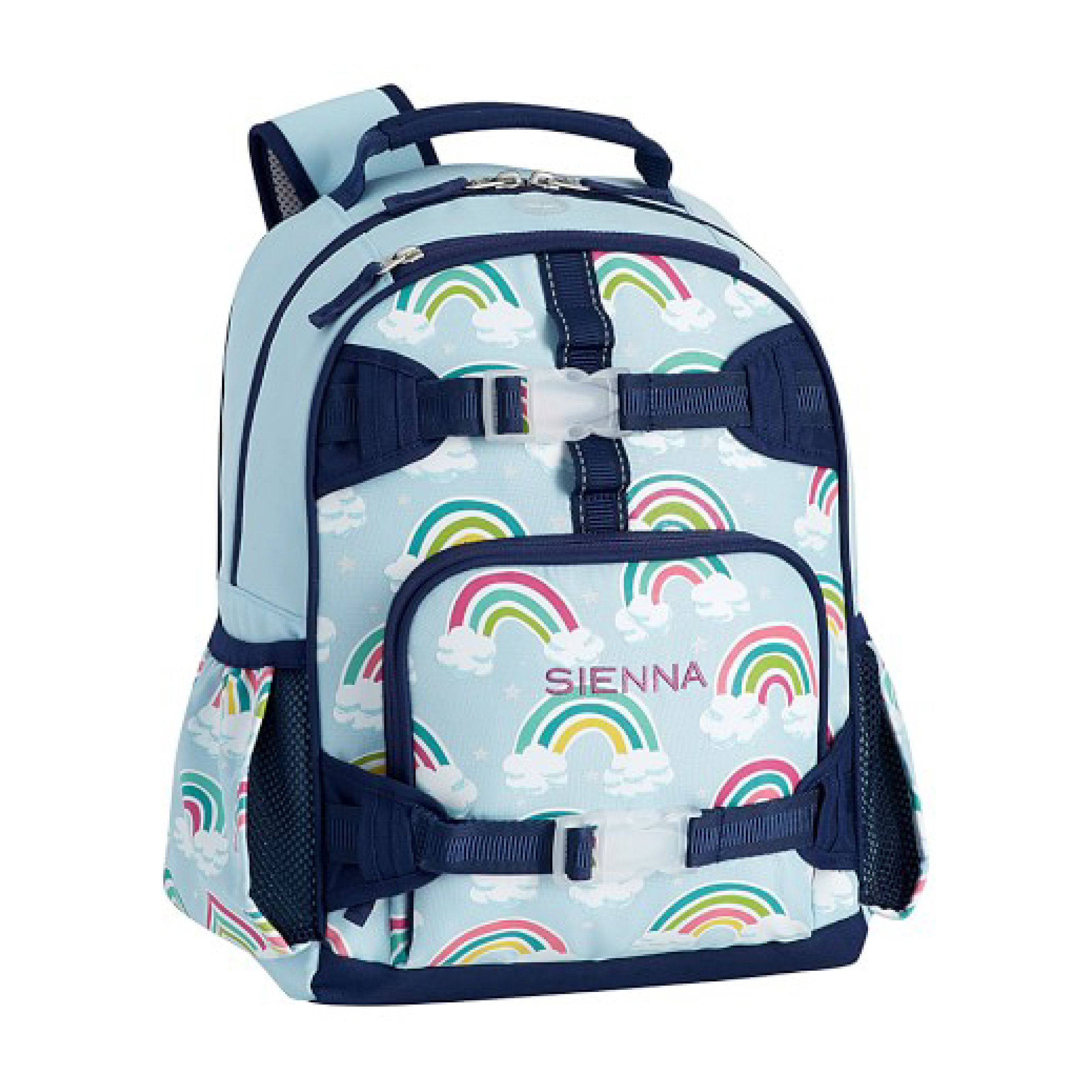 Pottery Barn - Pottery Barn backpacks seem to be our follower's favorite. They hold up well and come in a lot of patterns and sizes. Perfect for pre schoolers to high schoolers.