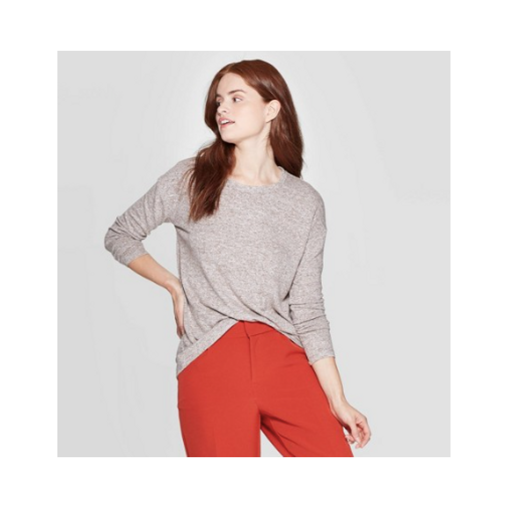 Long Sleeve Crewneck - Soft and perfectly slouchy. So good, you'll want to buy multiple.