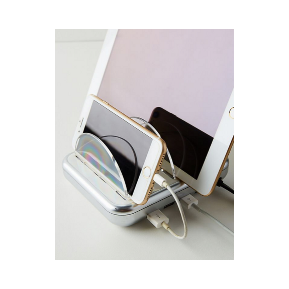 Charging Station - Keep all your electronics charging in one spot. Plus, it is compact and cute.