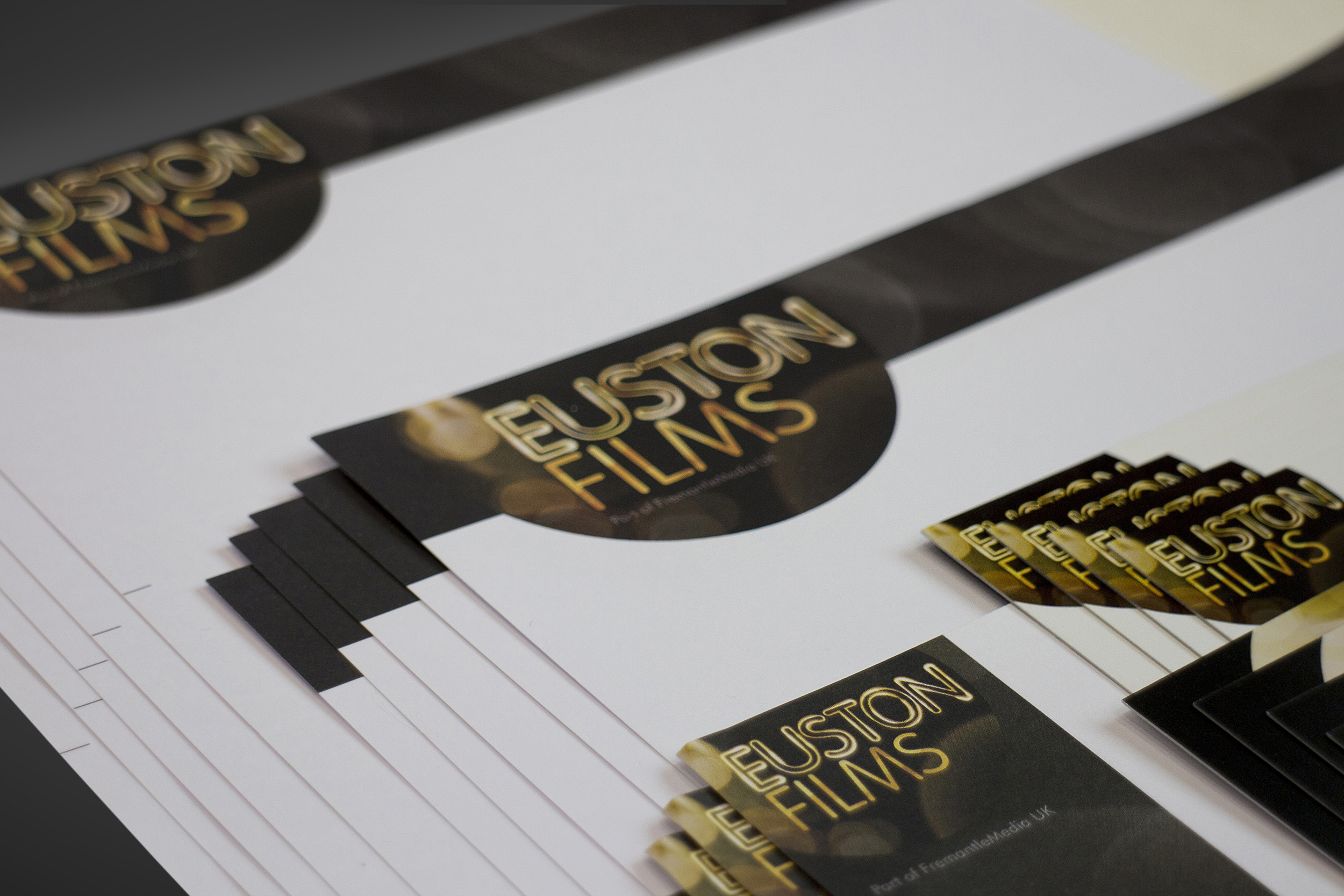 Euston Films stationery