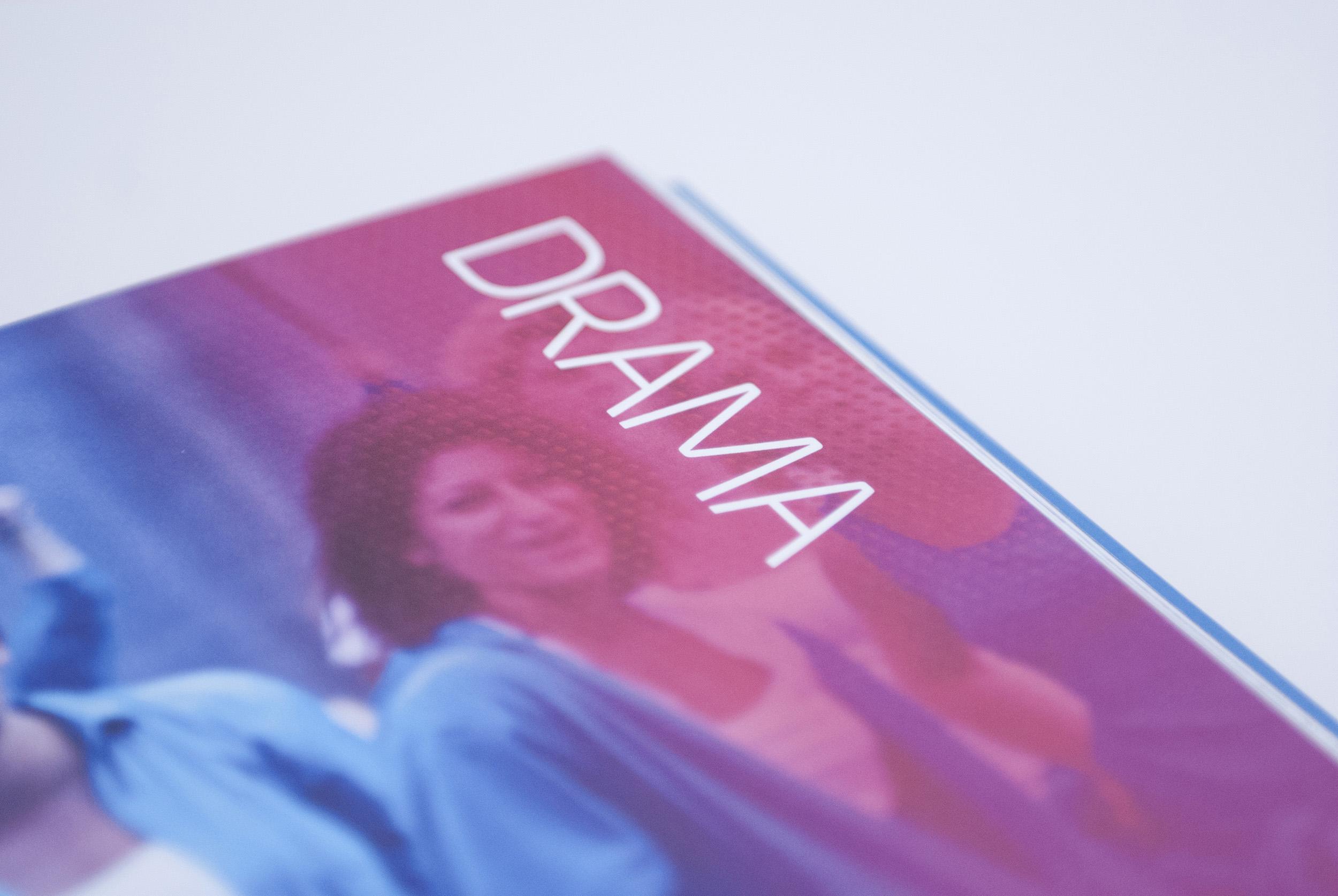 Detail of FremantleMedia catalogue divider page
