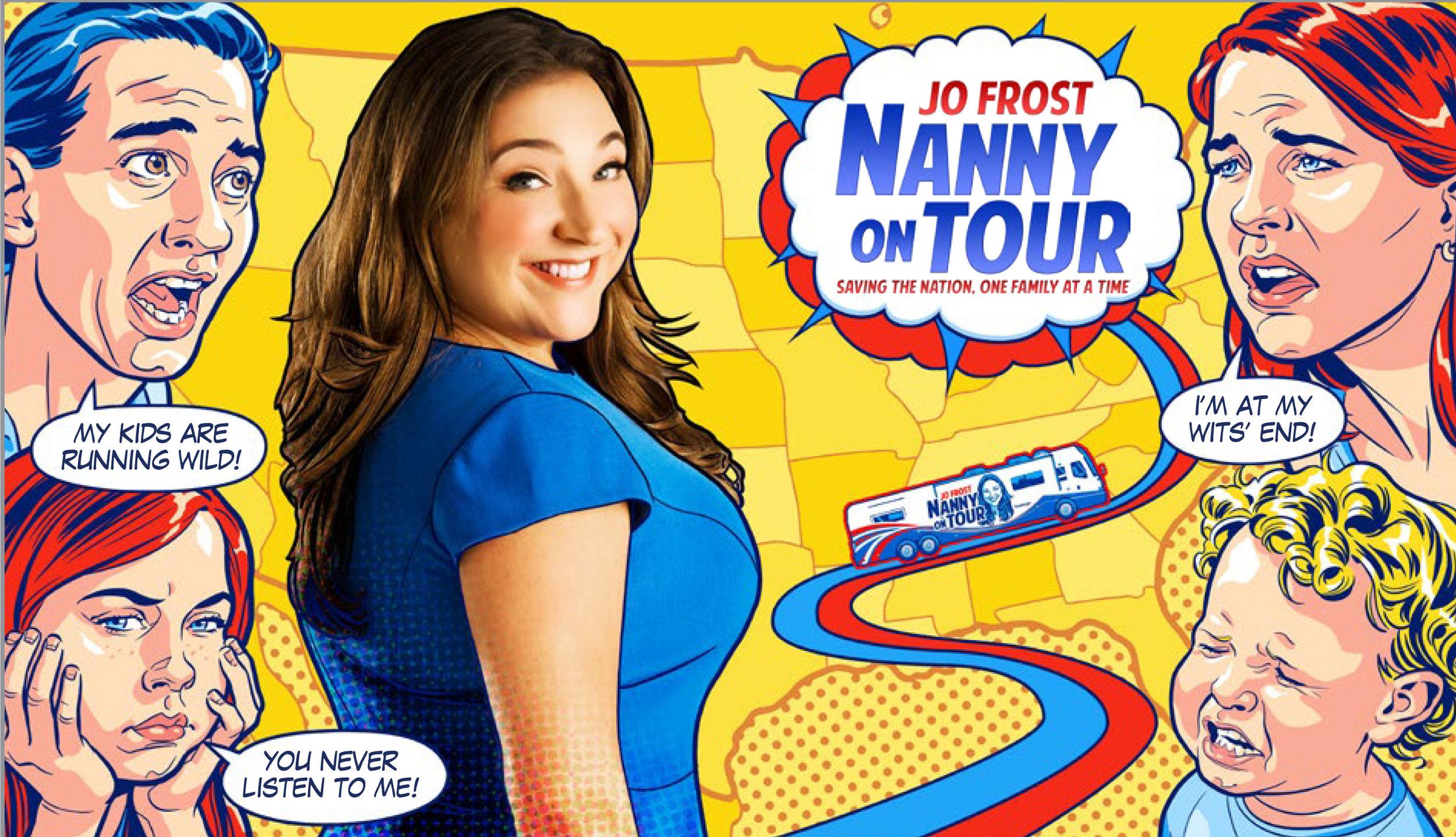 Jo Frost: Nanny on Tour key art