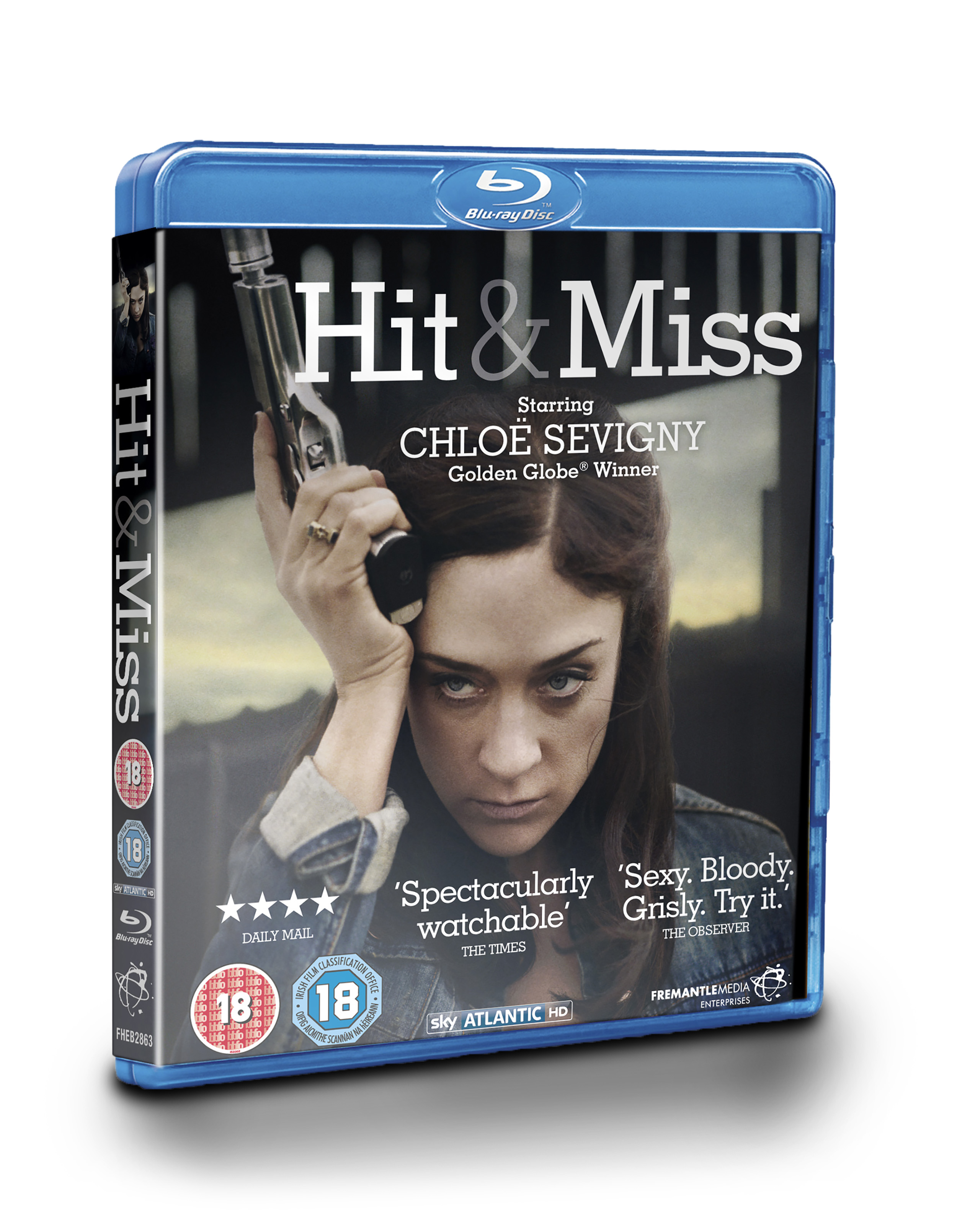 Hit and Miss Blu-ray/DVD packaging