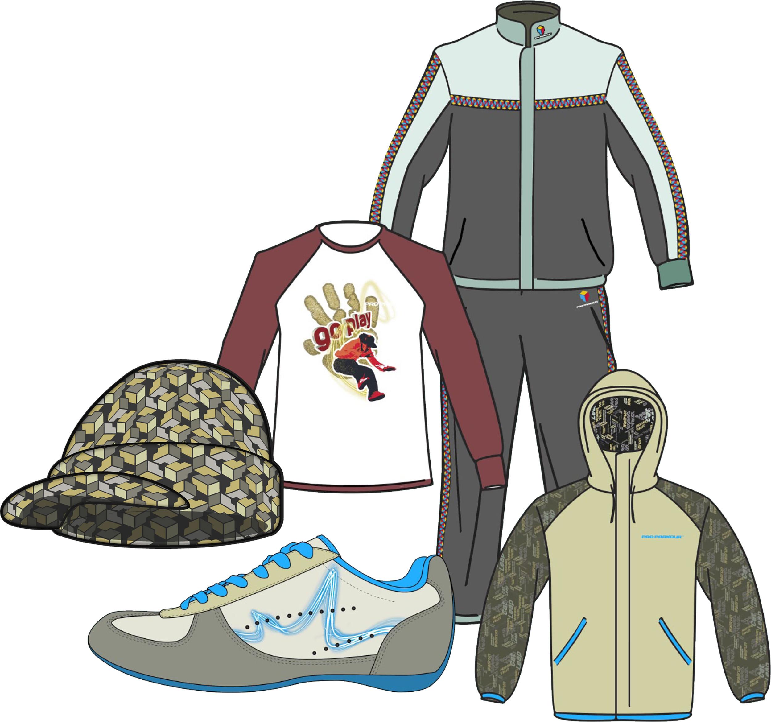 Pro Parkour apparel concepts