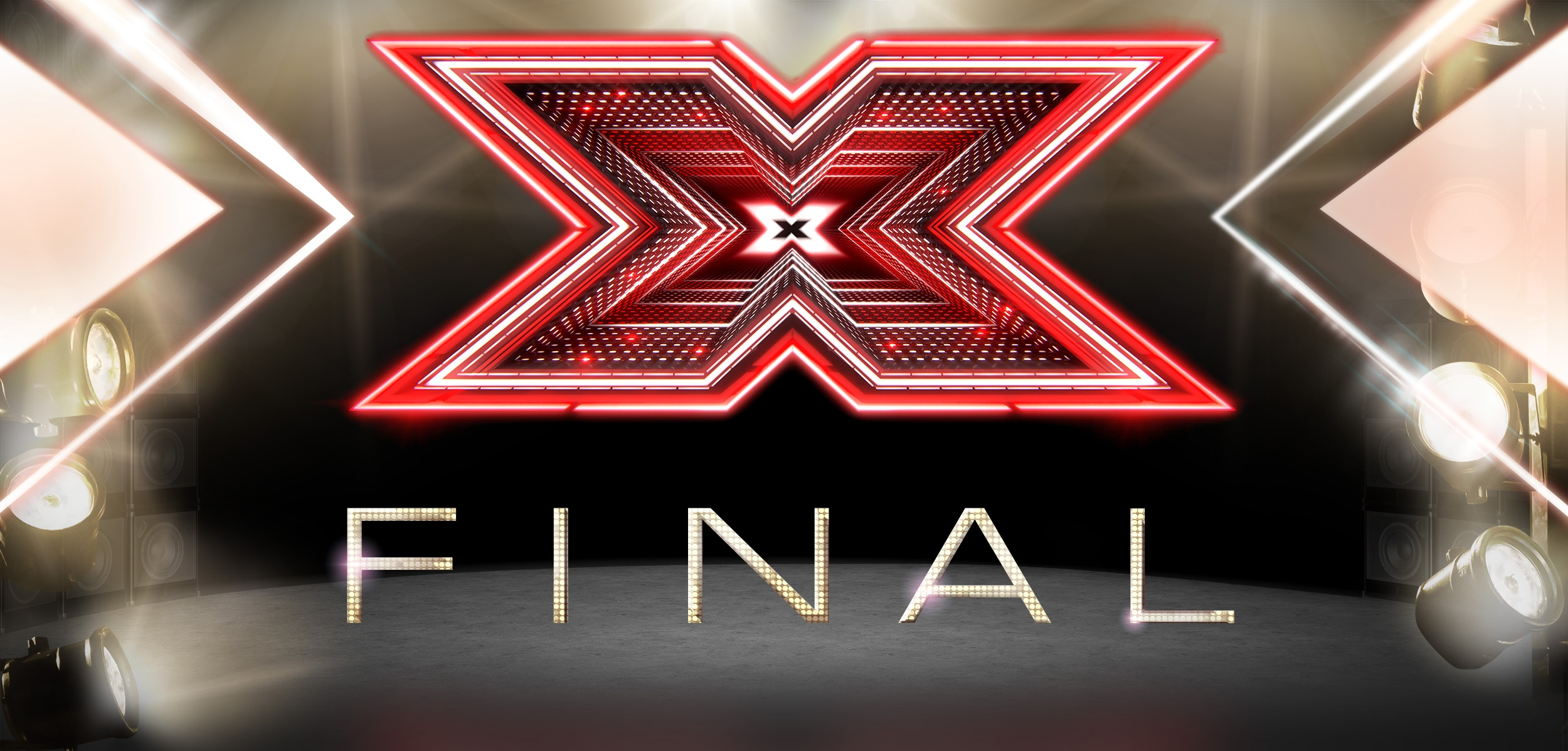Core brand background for The X Factor Final VIP party