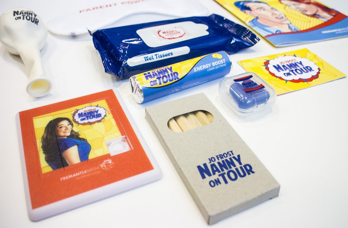 Jo Frost: Nanny on Tour parenting pack