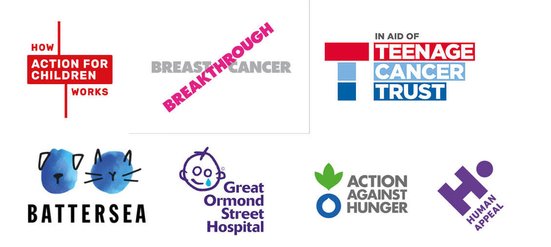 Recent charity rebrands research