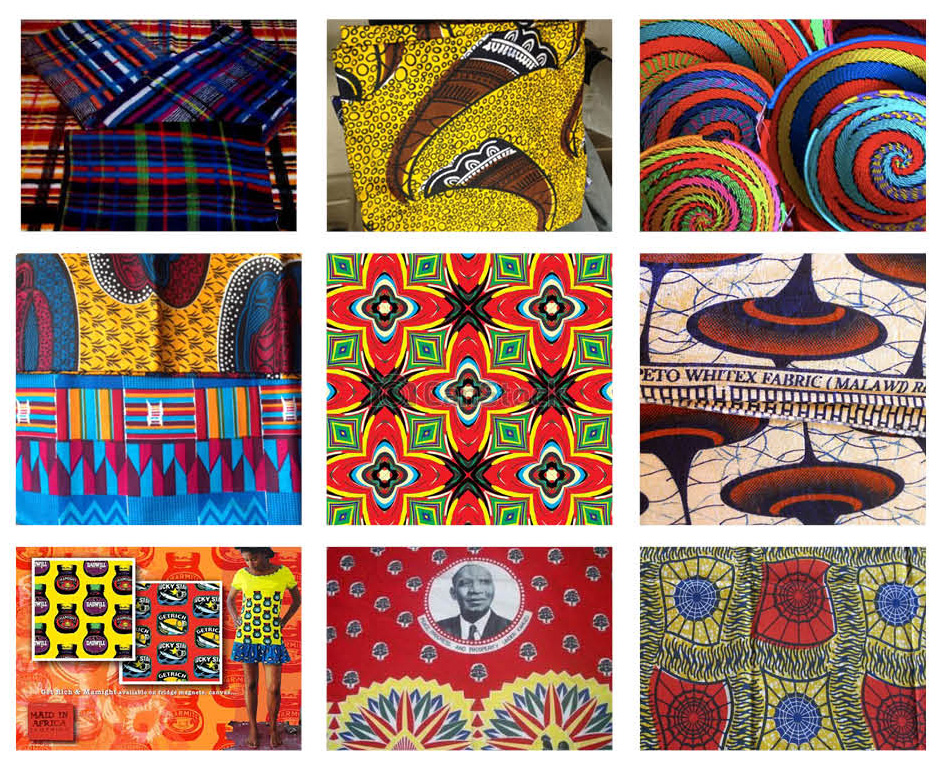 Patterns research moodboard