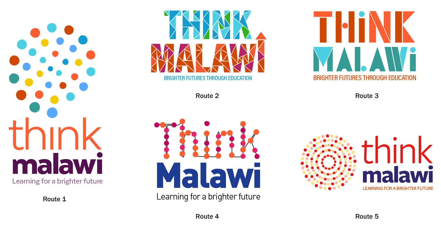 Think Malawi logo development