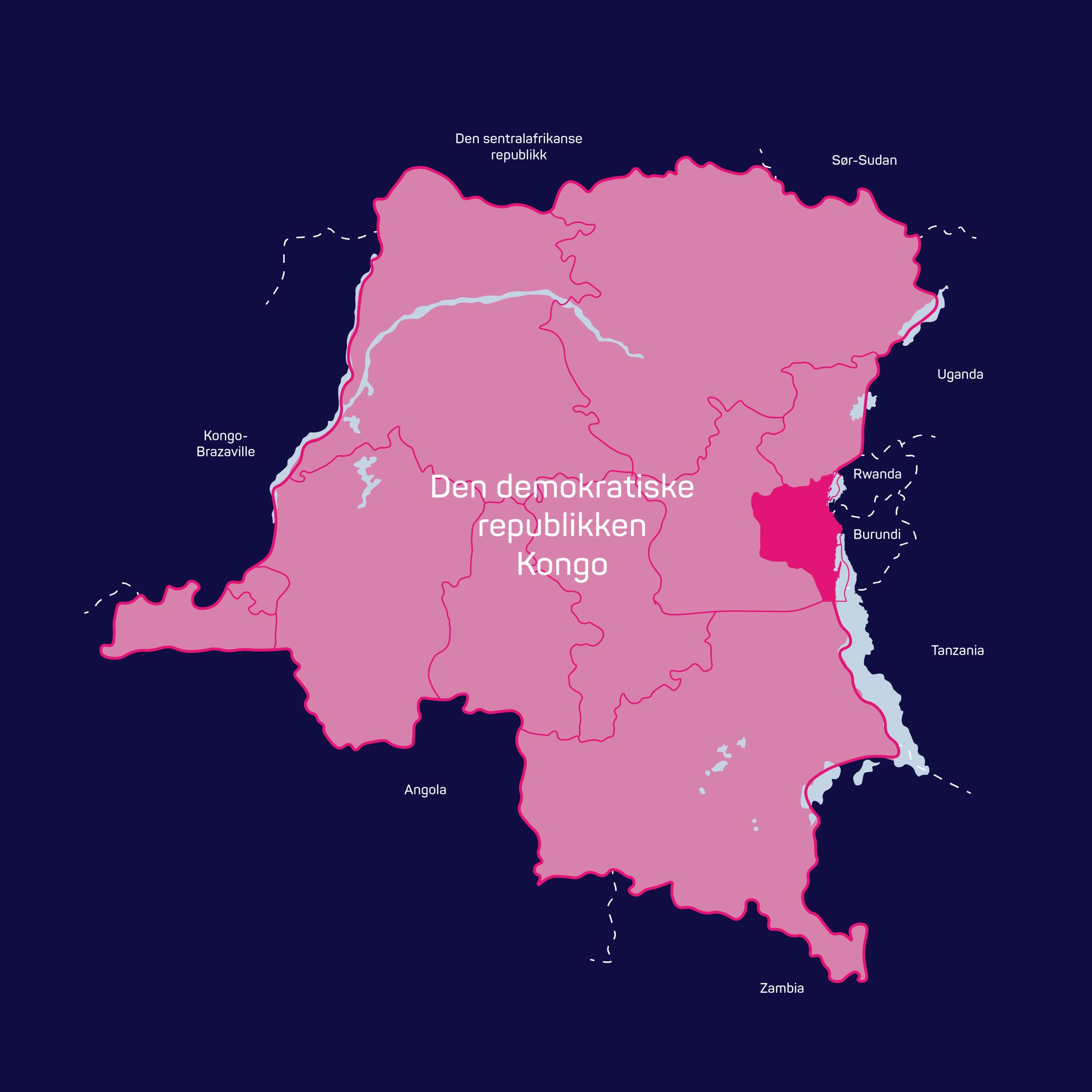 Vierbuddies - Kart D.R. Kongo