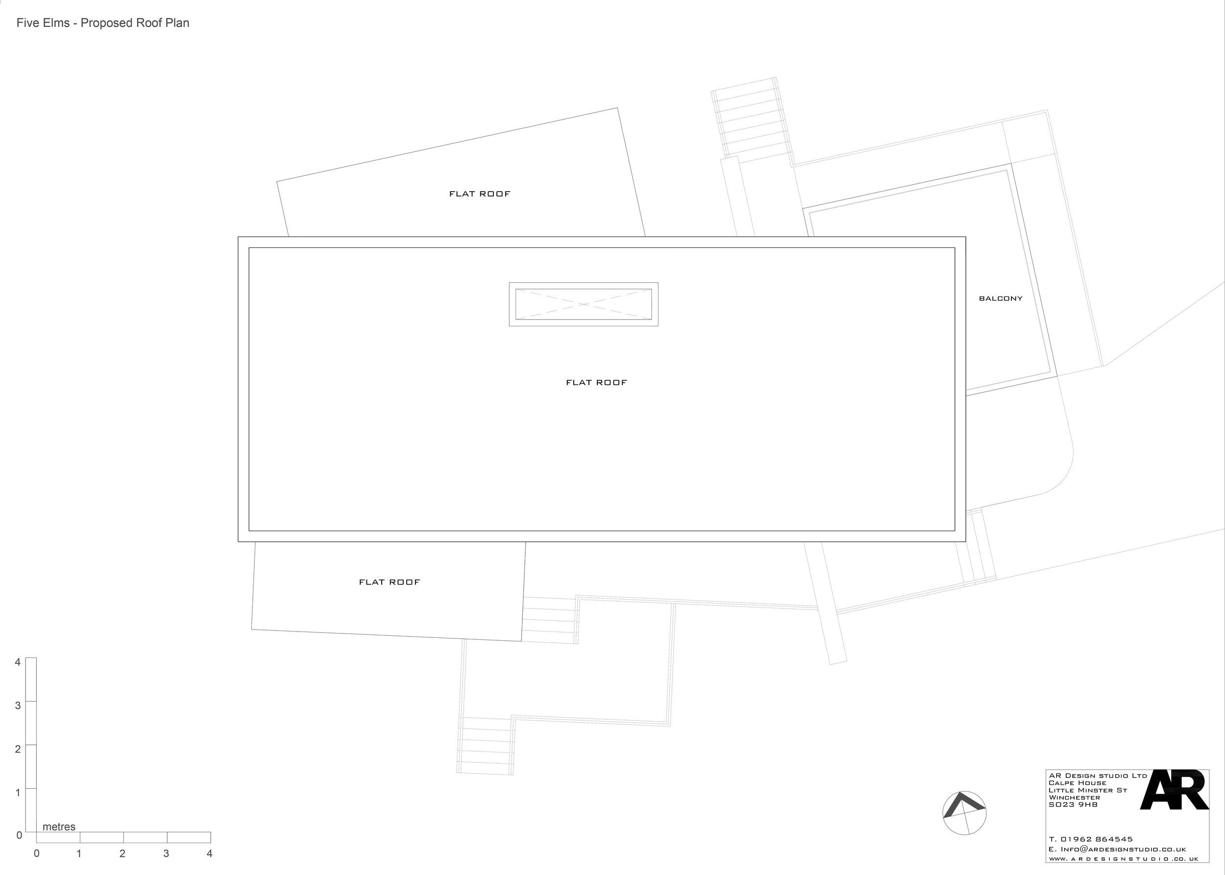 Five Elms Roof Plan