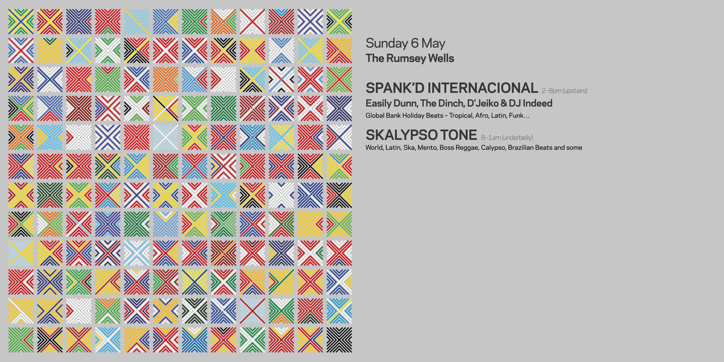 SPANK'D INTERNACIONAL POSTER DESIGN
