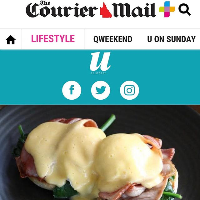 If you love our Egg's Bene as much as we do then please cast your vote on the Courier Mail's U on Sunday's latest poll to find the best Egg's Bene in Brissy! #couriermail #uonsunday #eggsbenedict #brisbaneeats #vote