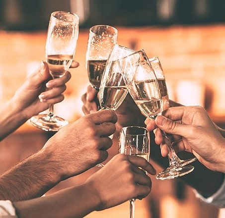 Treat your team and celebrate mid-year with our EOFY Party Package! *$98pp:  Inclusions: • 3 Hour Exclusive Drinks Package • Gourmet Cheese and Antipasto Grazing Table on arrival • Selection of 4 Canapes per person • DJ to get the party going!  Contact us at events@sixfeetundernewstead.com