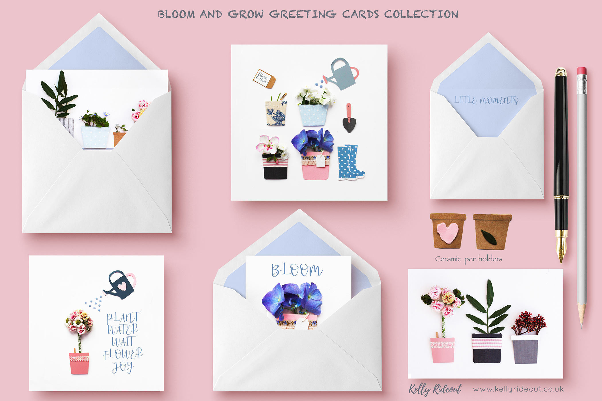 Bloom and Grow Greeting Cards