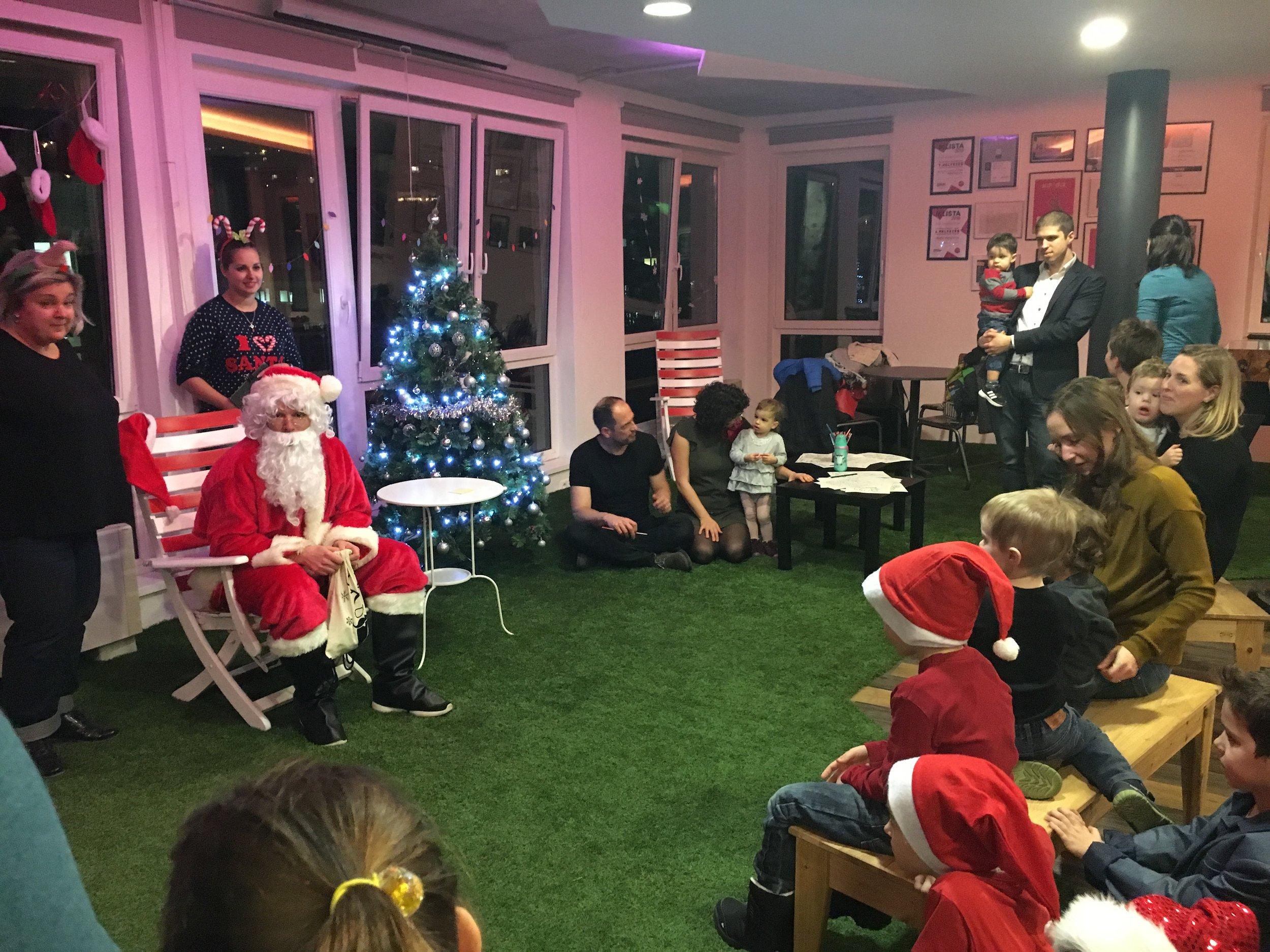 Santa for the kids.JPG