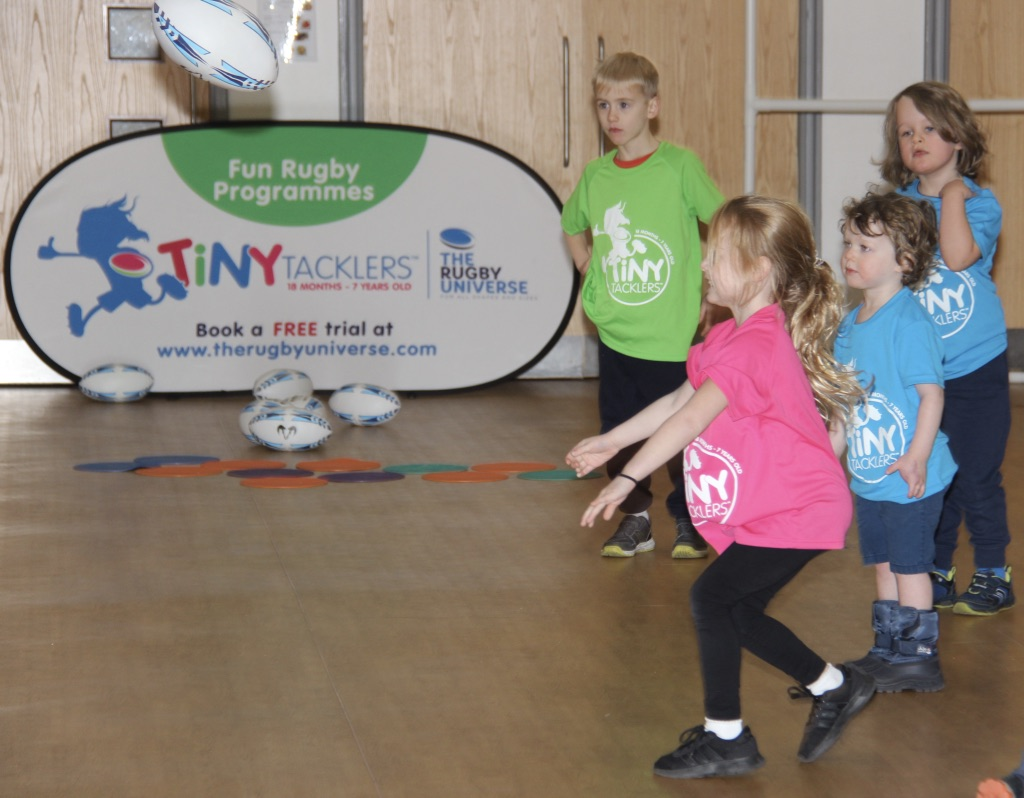 Tiny Tacklers Programme The Rugby