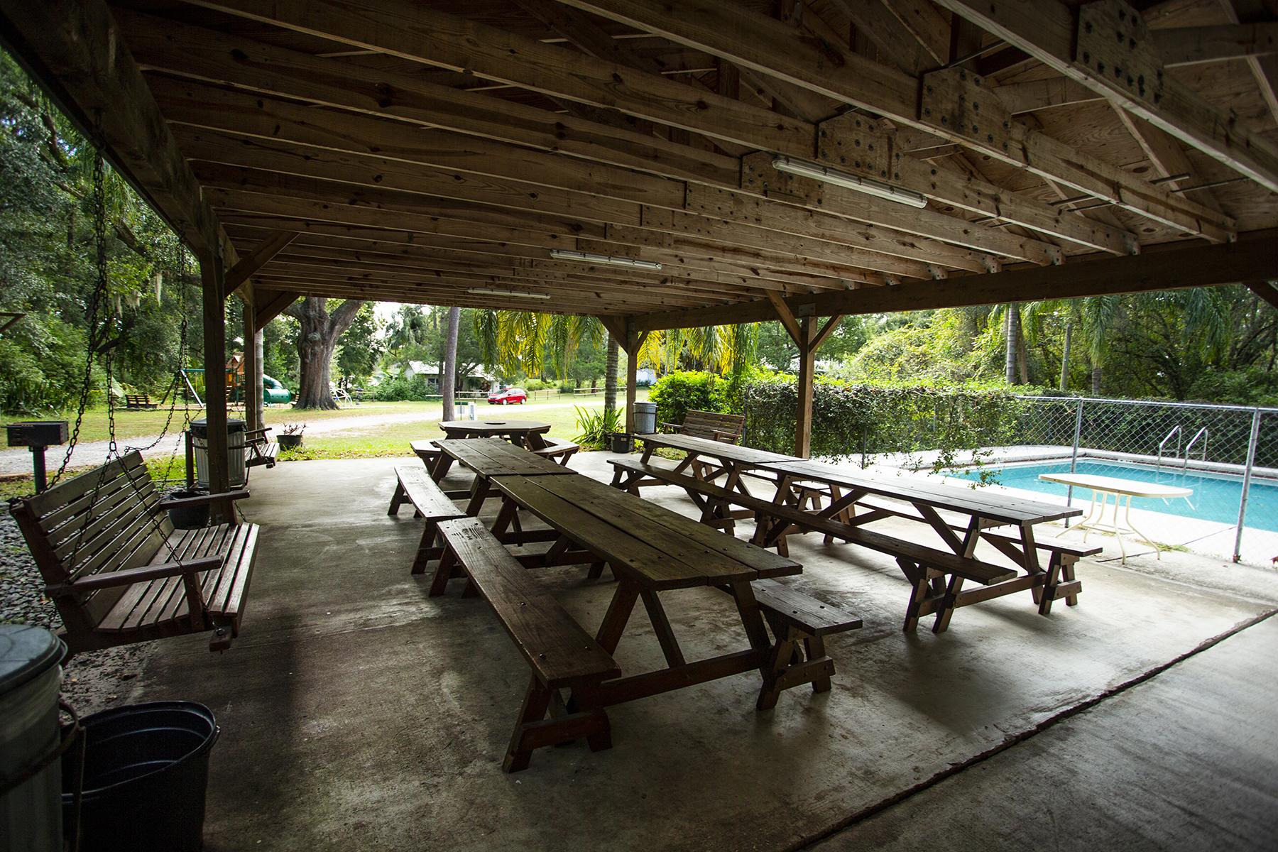 Pool & Pool House - Camp and Retreat