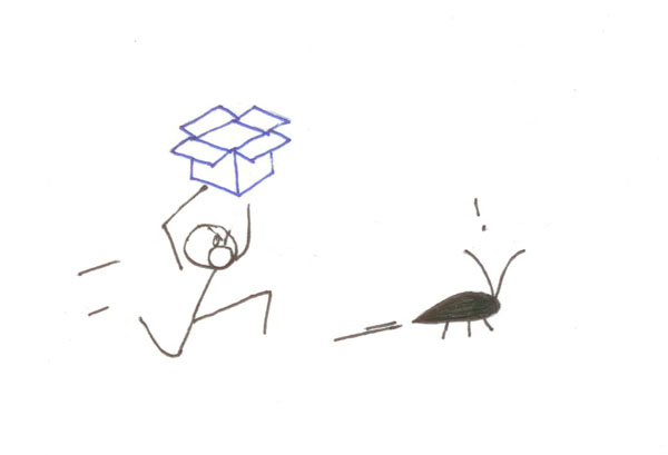 Jon Ying's original drawing for The Dropbox blog. Images sourced from  Illustrating a More Human Brand