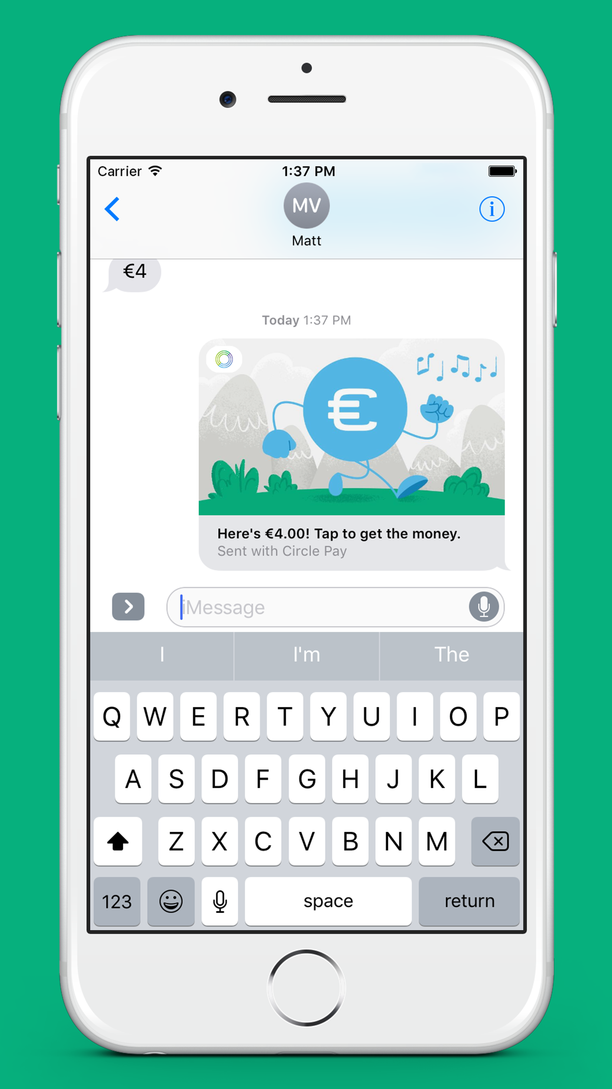 Money messages on the move!  Illustrated  by yours truly for  Circle Pay .